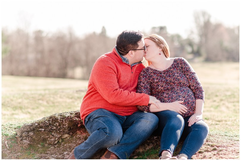 Alexandra Michelle Photography - Leesburg Virginia - Family - Maternity Portraits - Ida Lee Park - Spring 2019 - Perez-12