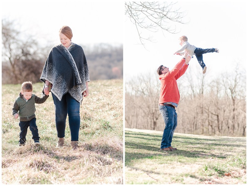 Alexandra Michelle Photography - Leesburg Virginia - Family - Maternity Portraits - Ida Lee Park - Spring 2019 - Perez-30