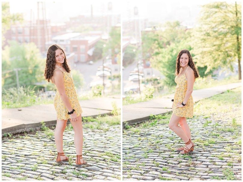 Alexandra Michelle Photography - Senior Best Friend Portraits - BFFs - Libby Hill Park - Richmond Virginia - Spring 2019-29