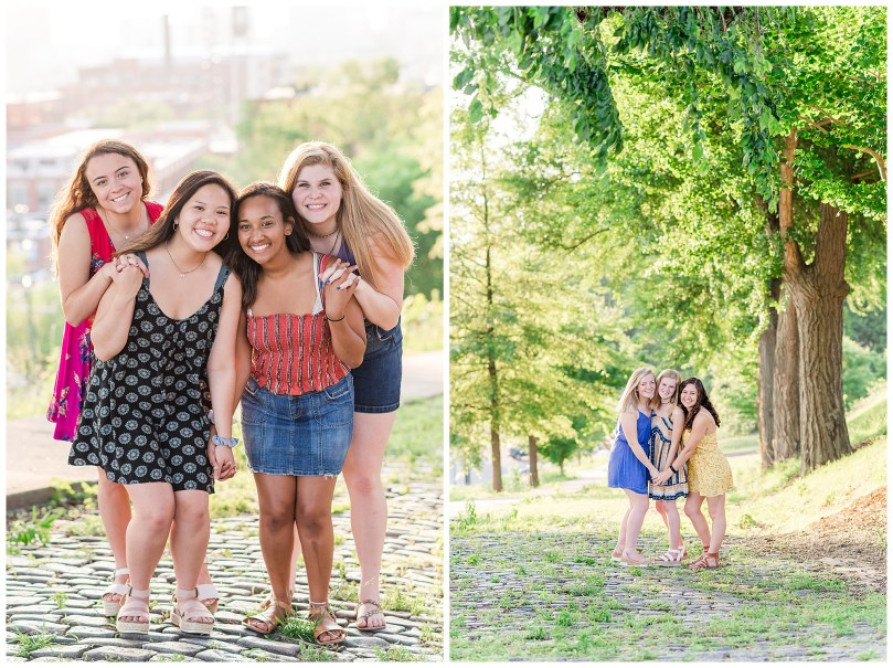 Alexandra Michelle Photography - Senior Best Friend Portraits - BFFs - Libby Hill Park - Richmond Virginia - Spring 2019-30
