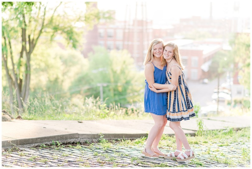 Alexandra Michelle Photography - Senior Best Friend Portraits - BFFs - Libby Hill Park - Richmond Virginia - Spring 2019-33