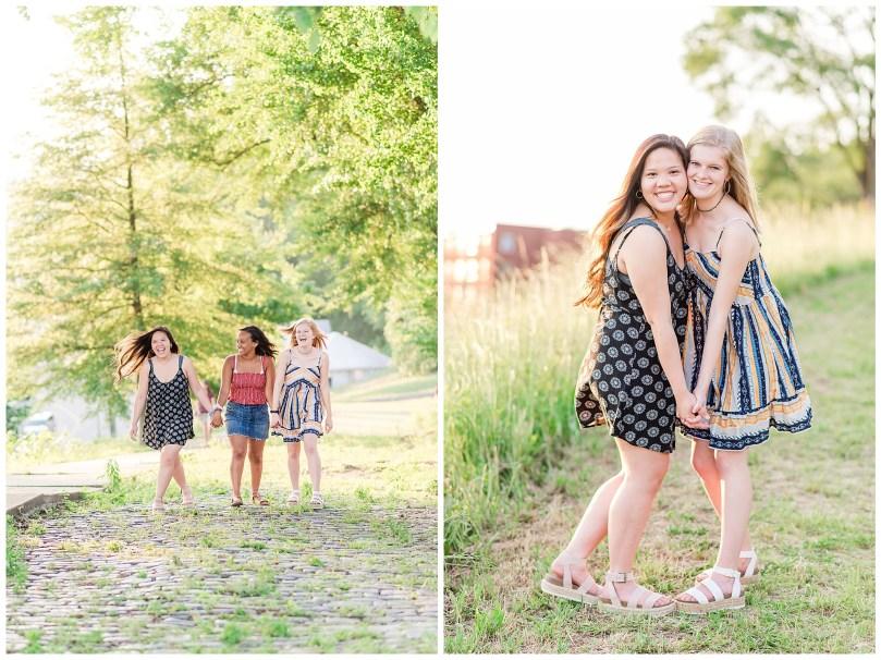 Alexandra Michelle Photography - Senior Best Friend Portraits - BFFs - Libby Hill Park - Richmond Virginia - Spring 2019-36