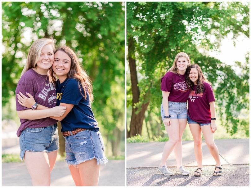 Alexandra Michelle Photography - Senior Best Friend Portraits - BFFs - Libby Hill Park - Richmond Virginia - Spring 2019-6
