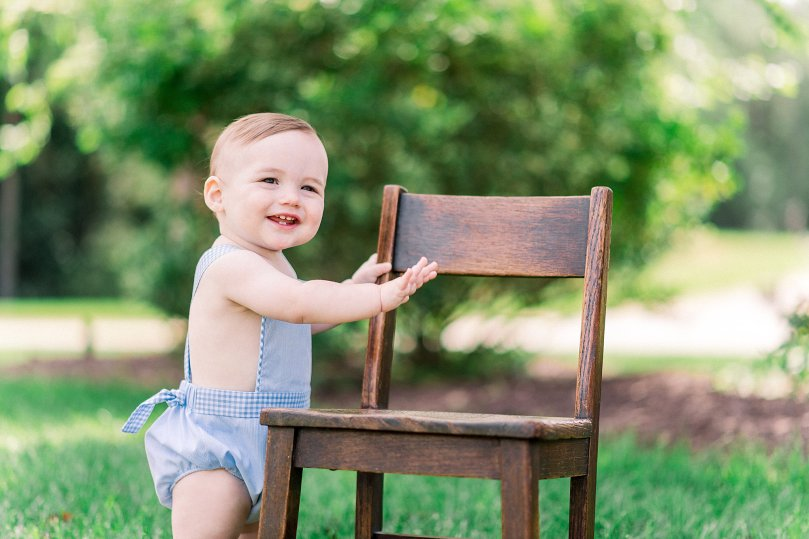 Alexandra Michelle Photography - 1 Year Cake Smash Portraits - Virginia - Summer 2019 - Tenney-101