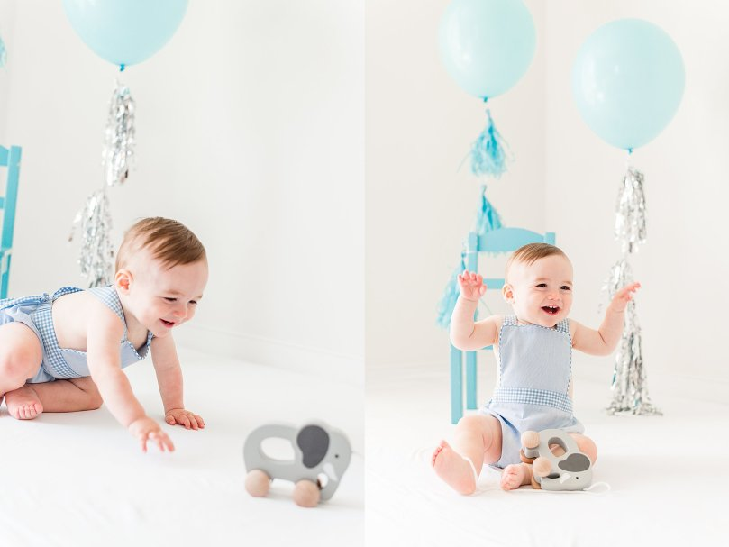 Alexandra Michelle Photography - 1 Year Cake Smash Portraits - Virginia - Summer 2019 - Tenney-15