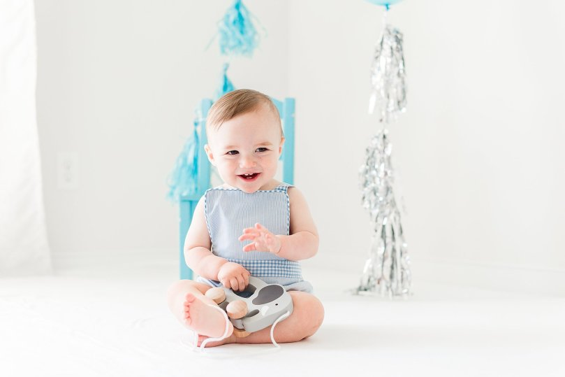 Alexandra Michelle Photography - 1 Year Cake Smash Portraits - Virginia - Summer 2019 - Tenney-21