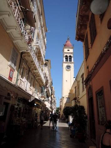 Corfou town
