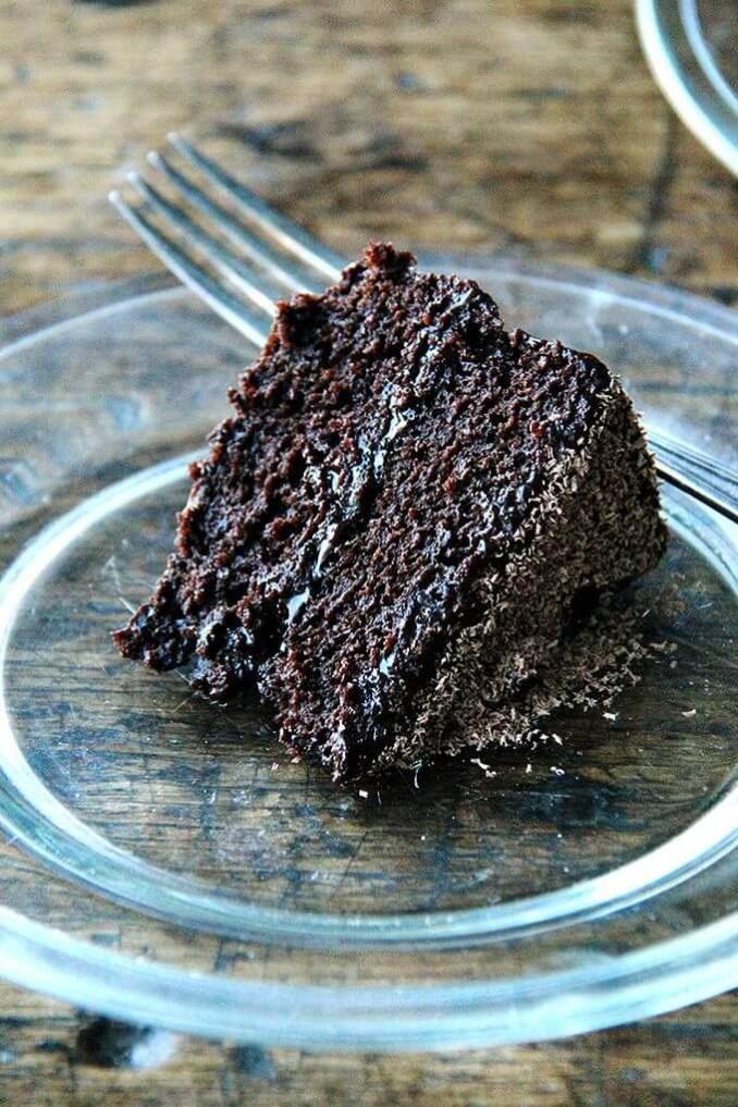 Gourmet's Double Chocolate Cake, Revisited - Alexandra's