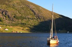 Medvind, what a loyal boat