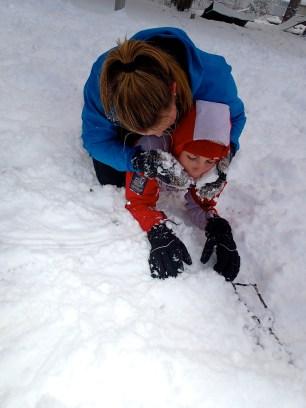 eat snow