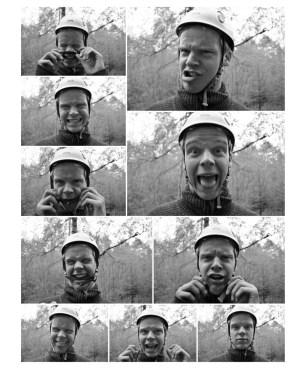 øyvind's funny faces