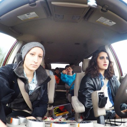 Playin #mom with a car full of kidlets. #kids #gopro #carselfie