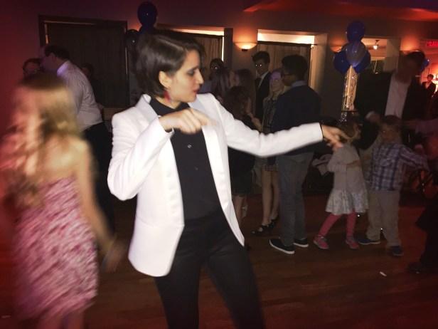 Kayla killin' it on the dance floor