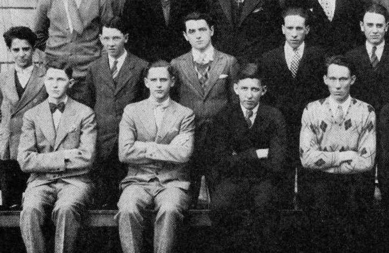Ready to kick-start your genealogy hunt? Here are 10 questions to ask your grandparents to start you on your journey | site: Alex Inspiried – picture of Alex's Grandpa at DeLaSalle High School, Minneapolis 1929.