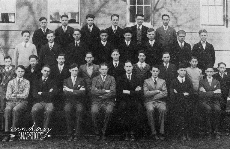 1928 De La Salle High School Year Book, Sophomore Class Photo of Thomas Golden | Alex Inspired