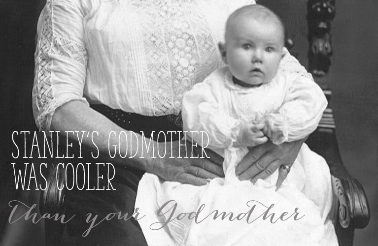 Baby Stanley Golden on his Grandmother's Lap | Alex Inspired