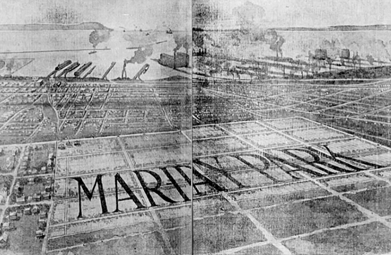 Mariday Park Advertisement from 1909 - J.J. Carrick | Alex Inspired