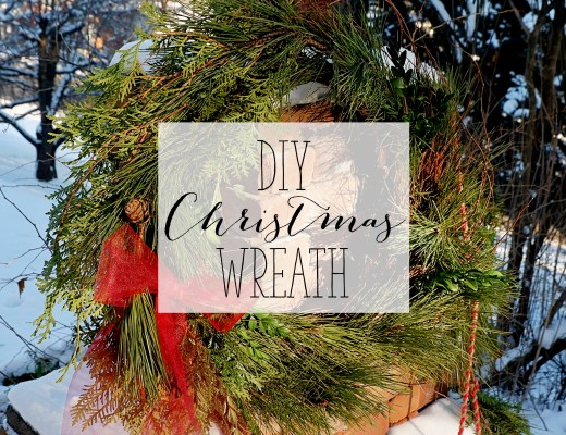 DIY Christmas Wreath - Fresh Green Christmas Wreath | Alex Inspired