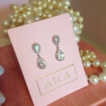 Custom Bridal Earrings