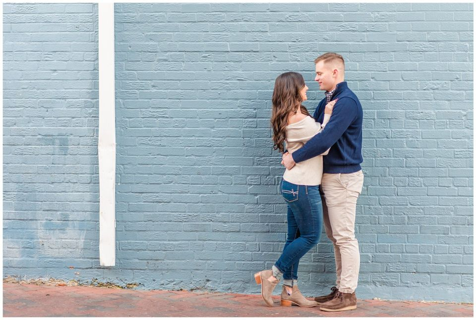 Annapolis Engagment Session Winter
