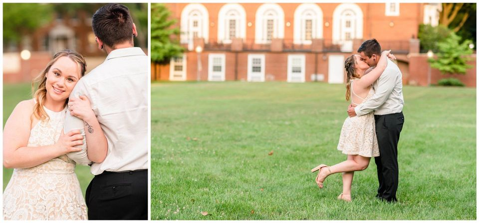 Summer Engagement session in Annapolis maryland