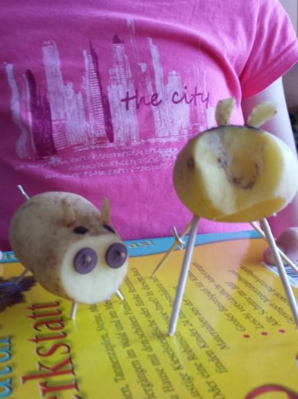 Kartoffeltiere.