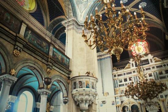 Istanbul - church's light