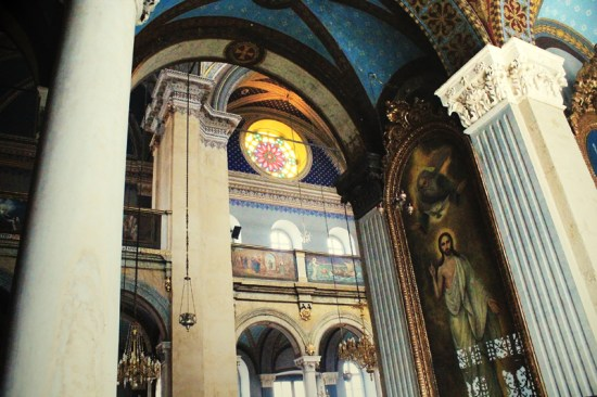 Istanbul - Church's painting