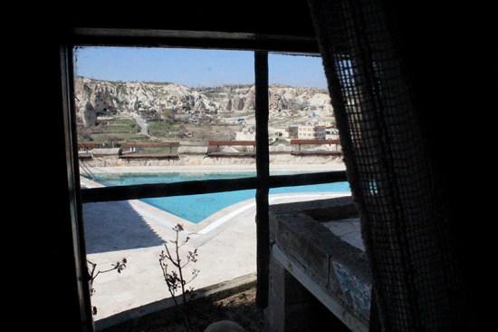 Cave Hotel in Cappadocia, Turkey - Room's View