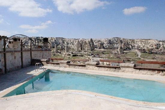 Cave Hotel in Cappadocia, Turkey - Pool