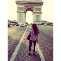 Visiting the Champs Élysées!