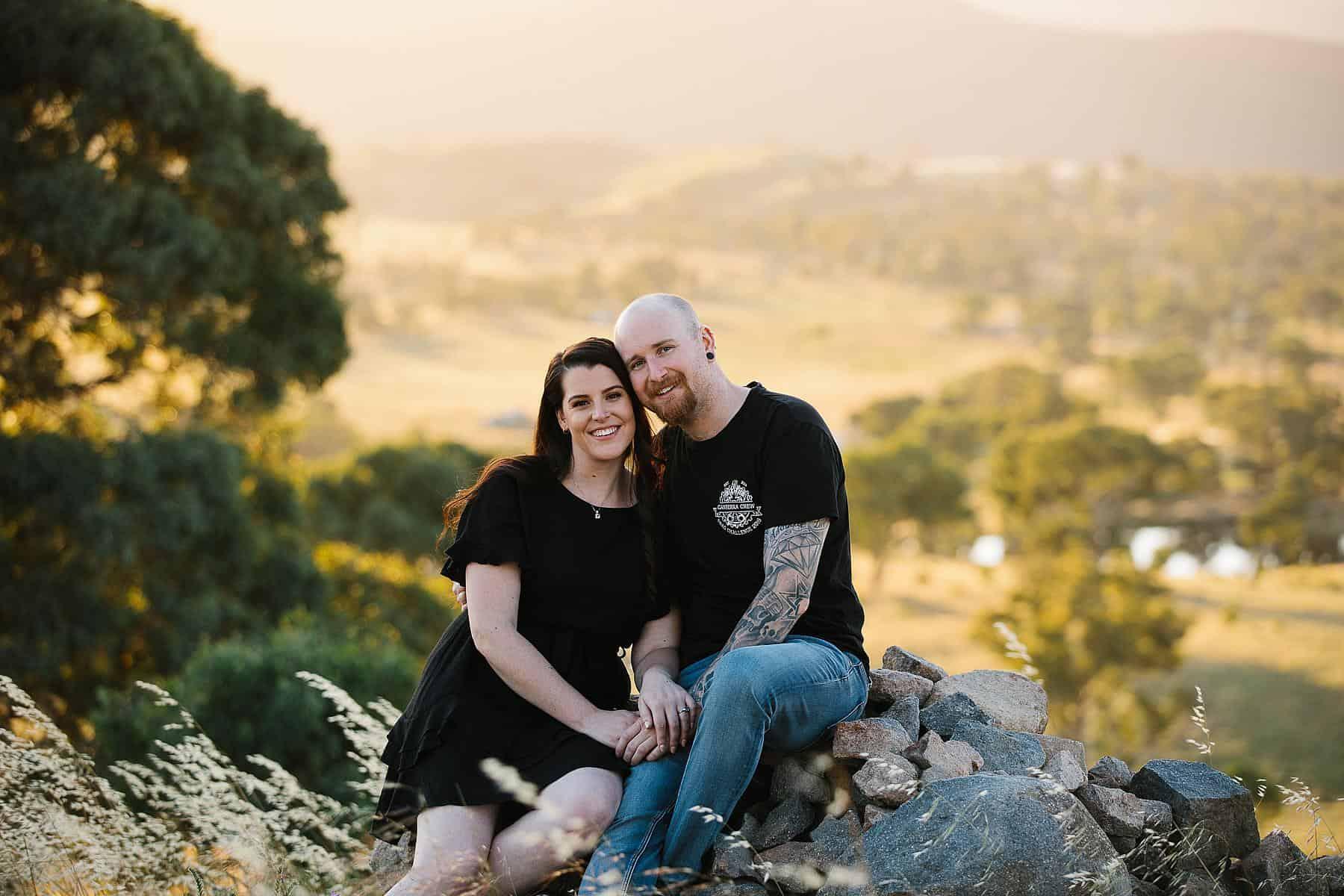 Sarah & Glenn Engagement, Canberra