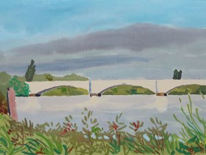 Thames landscape (Chiswick Bridge) Mark Dober