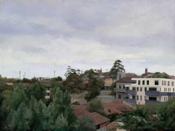 Painting of Northcote by Alexandra Sasse