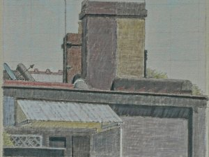 Hendrik Kolenberg painting 'Newtown Chimneys'