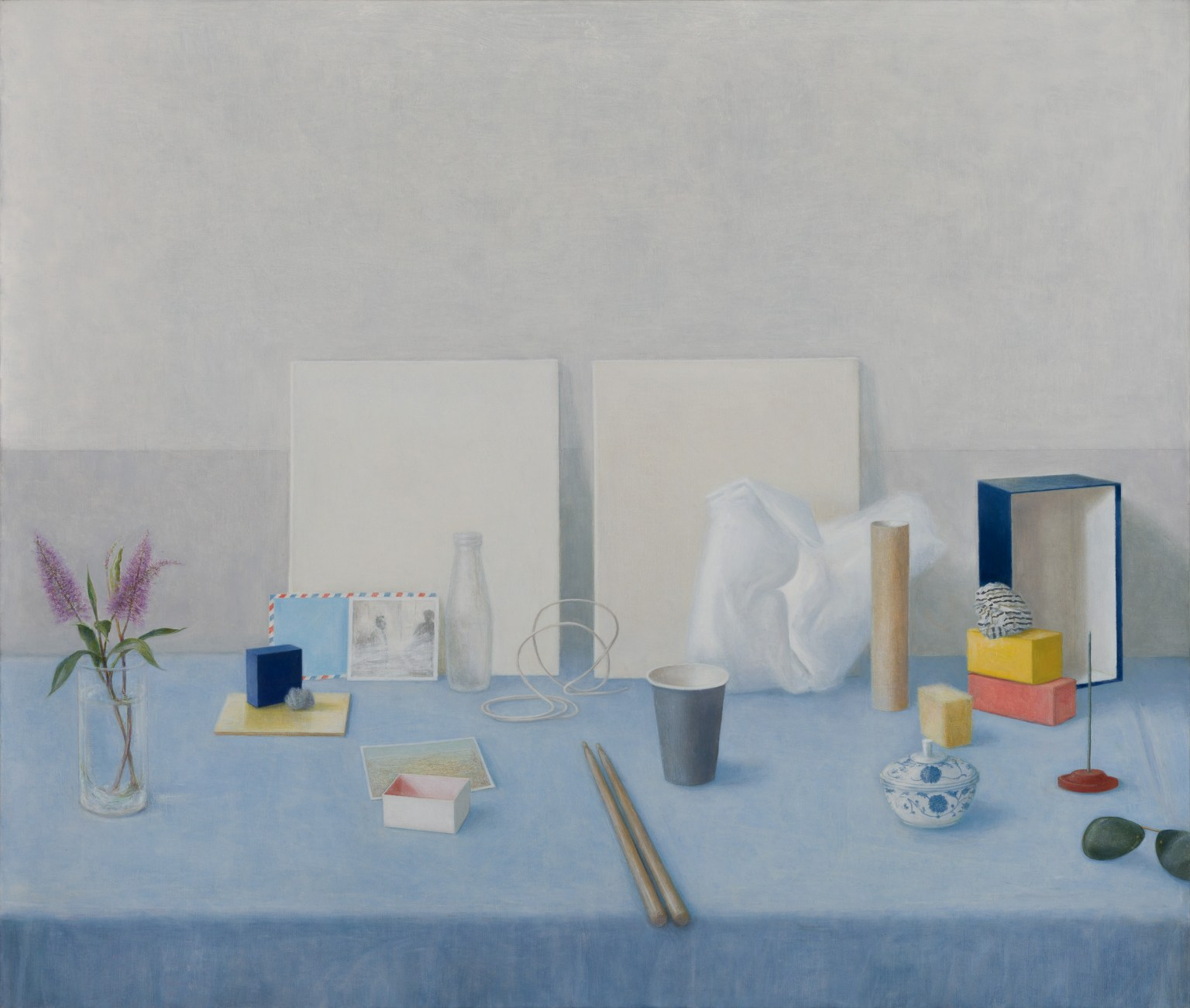 John Scurry painting 'Distancing' 2020