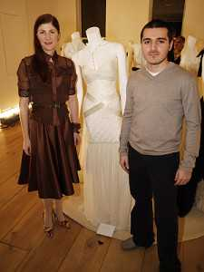 alexandra greenawalt and sergio g celestino couture