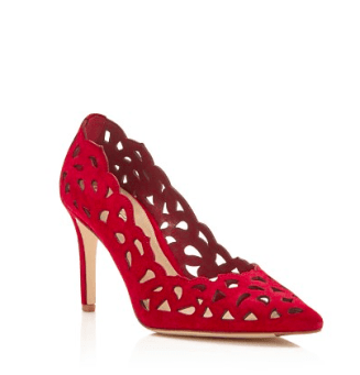 Via Spiga Clio Cutout Pointed Toe Pumps from Bloomindale's