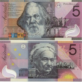 Sir Henry Parkes and Catherine Helen Spence. Banknotes.com, Currency Gallery: Australia. http://www.banknotes.com/au.htm