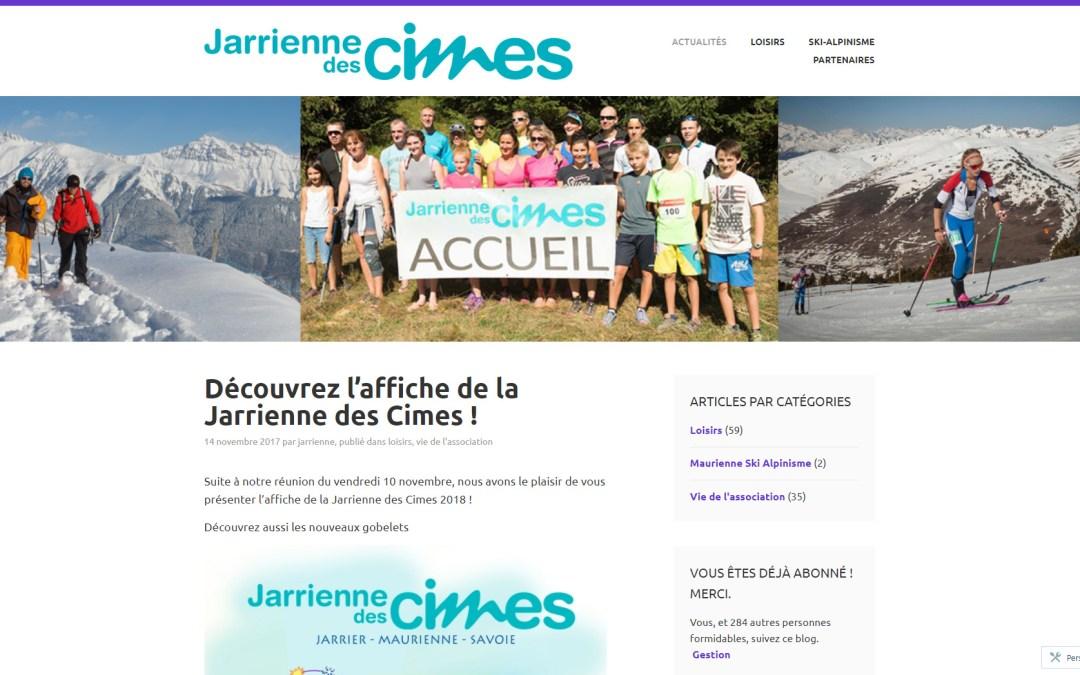 AL. Savoie est partenaire de la Jarrienne des Cimes Maurienne