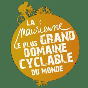 logo la maurienne le plus grand domaine cyclable du monde alexandre gros AL. Savoie