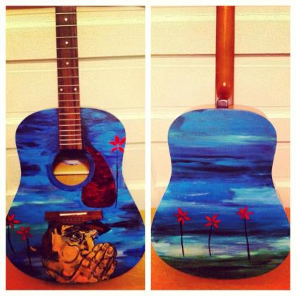 neil young guitare Commission