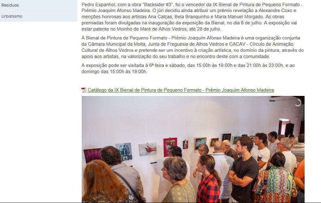Prémio Revelação IX Bienal de Pintura de Pequeno Formato – Prémio Joaquim Afonso Madeira