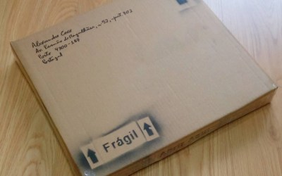 Embalar Pinturas para enviar por Transportadora