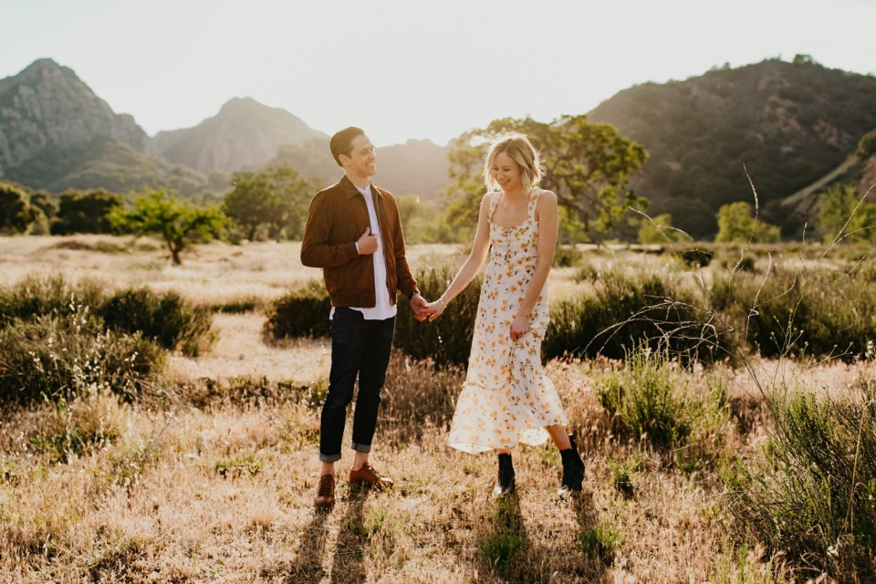 Malibu Engagement Session | https://alexandriamonette.com