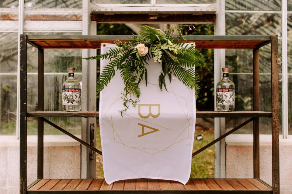 organic wedding reception at dos pueblos orchid farm
