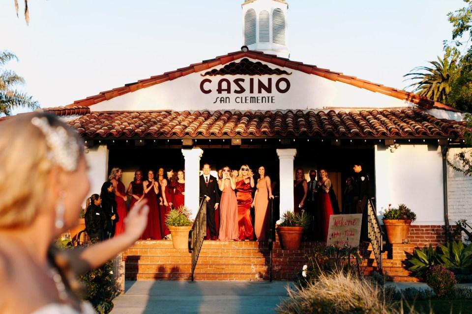 sunset photos at casino san clemente