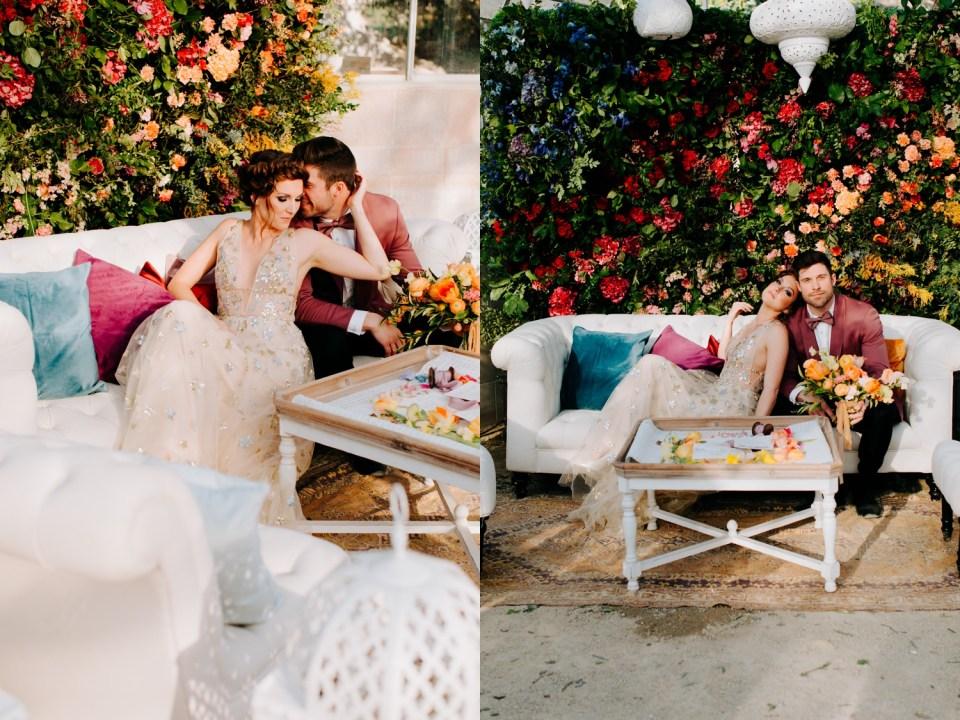 rainbow wedding decoration inspiration