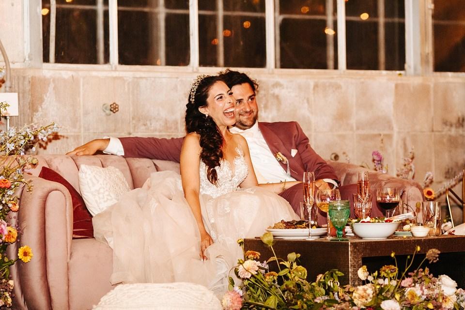 Reception  for Goleta Wedding at Dos Pueblos Orchid Farm