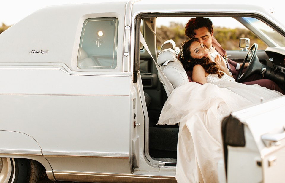 Sunset Portraits for Goleta Wedding at Dos Pueblos Orchid Farm